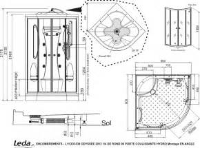 cabine de hydromassante leda odyss 233 e 90x90 cm