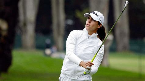 swinging skirts golf leaderboard karine icher withstands cold for swinging skirts lpga