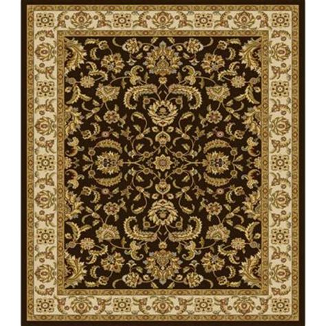 bazaar rugs at home depot home dynamix bazaar emy brown ivory 5 ft 2 in x 7 ft 2 in area rug discontinued 2 hd2586