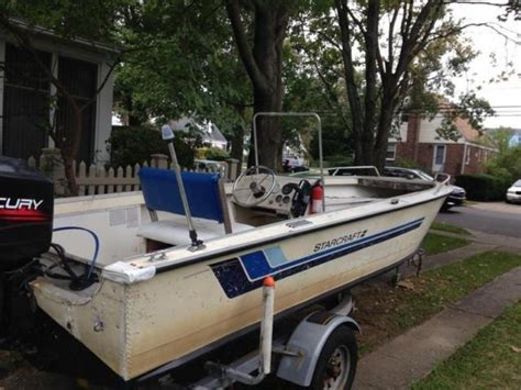 starcraft boats center console 18 starcraft center console with motor and trailer for