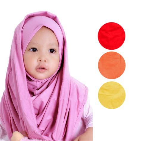 Jilbab Instan Hoodie List Jilbab Anak Hoodie Polos Jilbab Instan Kerudung Elevenia