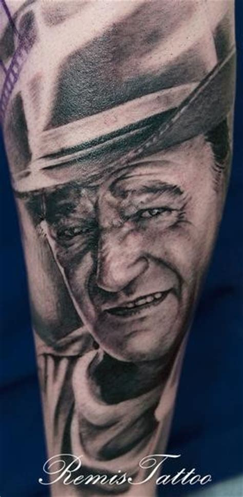 tattoo inspiration john wayne tattoo uploaded by mmstar