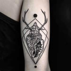 antler shell tattoo best tattoo ideas gallery