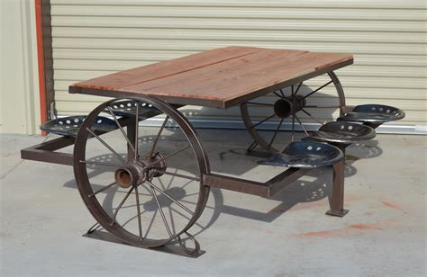 wagon wheel picnic table absolutiontheplay