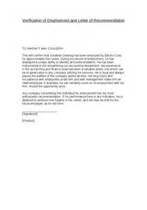 Reference Letter For Employment Verification Proof Of Employment Reference Letter Template Cover
