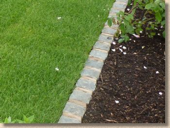 Landscape Edging You Can Mow Paving Expert Aj Mccormack And Edgings Kerbs