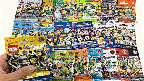 Lego The Original Minifigures Series lego minifigures opening all 21 lego minifigures series