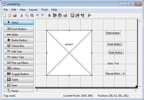 exles of layout sins create a simple app using guide matlab simulink