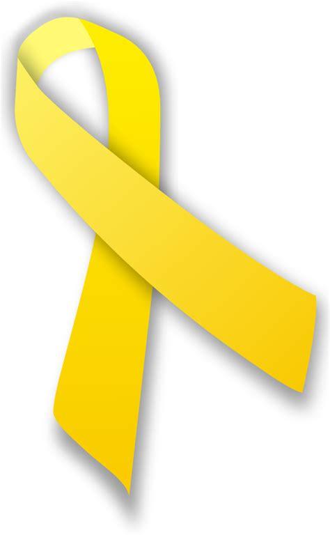 Yellow Ribbon Mba by File Yellow Ribbon Svg Wikimedia Commons