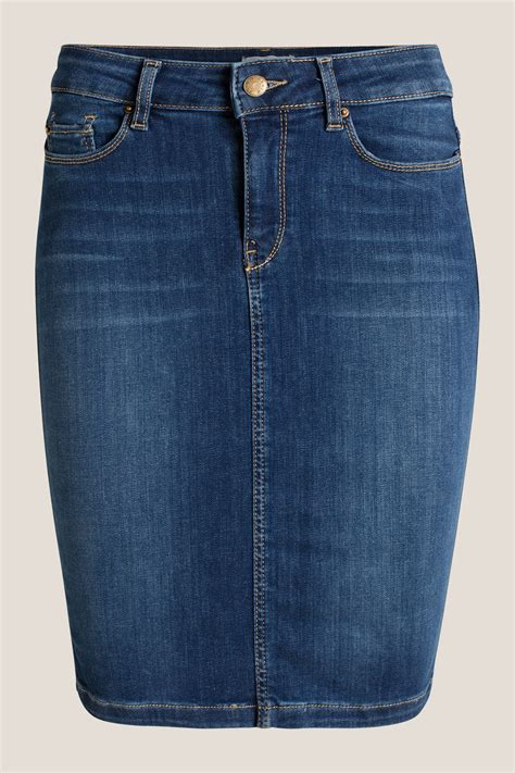 esprit stretch denim pencil skirt at our shop