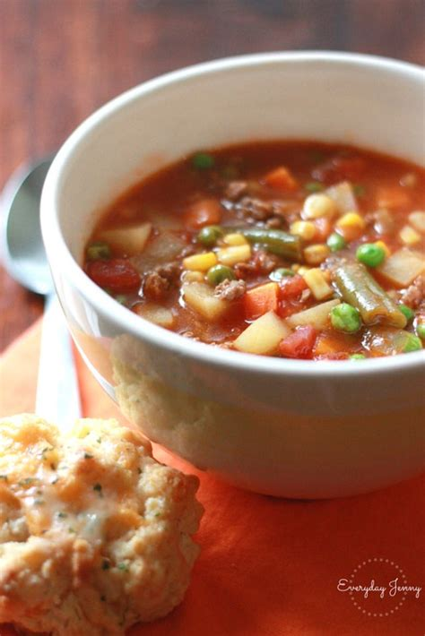 easy vegetable soup recipe for easy vegetable beef soup this is a family favorite done