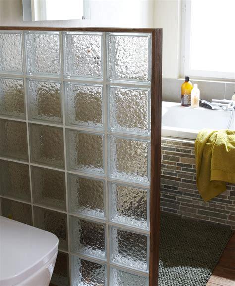 une separation en briques de verre leroy merlin