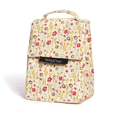 Cotton Lunch Bag organic cotton insulated lunch bags by green tulip ethical