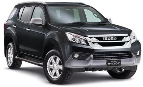 isuzu 2018 mu x price, specs, review, pics & mileage in india