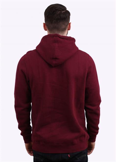 Sweater Hoodies As Roma Maroon stussy link embroidered hoodie maroon