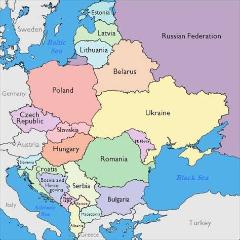 map eastern europe journalism in eastern europe who controls the media resources