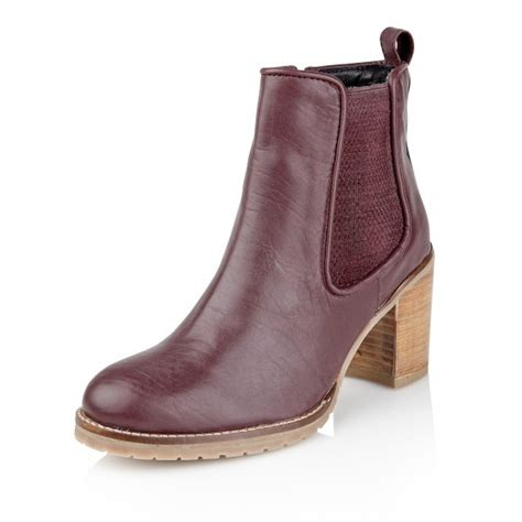 ravel newark rlb138 s burgundy boots free delivery