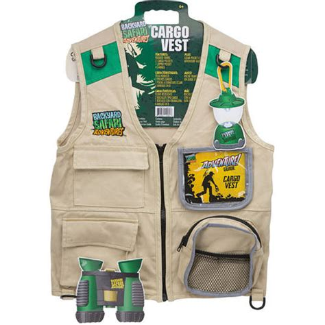 backyard safari vest backyard safari the essential field gear cargo vest