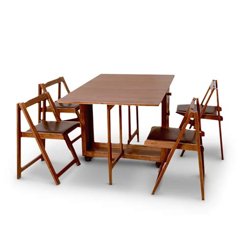 folding dining table india buy compact four seater folding dining set online in india