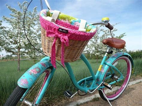 Fahrradkorb Nostalgie by Cool Perspective Paint Custom Bike Basket Liner