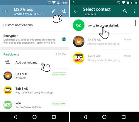 membuat undangan grup whatsapp undang teman masuk grup whatsapp via invite link memudahkan