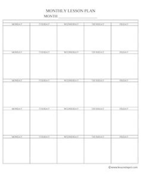 sle printable lesson plan template sle madeline lesson plan template teacheng us