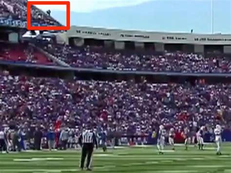 Buffalo Bills Family Section by Buffalo Bills Fan Who Fell In Stadium Stunt Is Now Banned