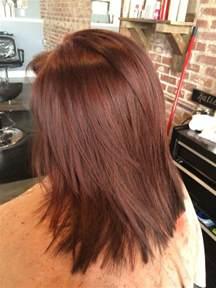 mahogany color hair 36 intensely cool mahogany hair color ideas