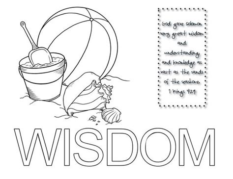 king solomon asks for wisdom coloring page coloring pages