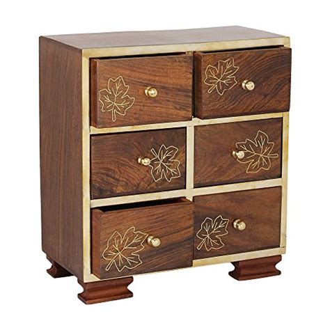 decorative armoires small decorative 6 drawers chest shape wall standing