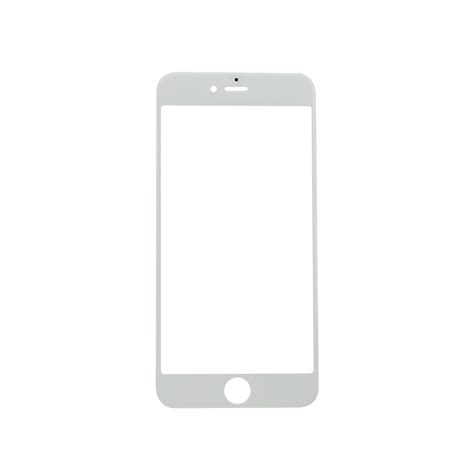 iphone   glass lens screen replacement white