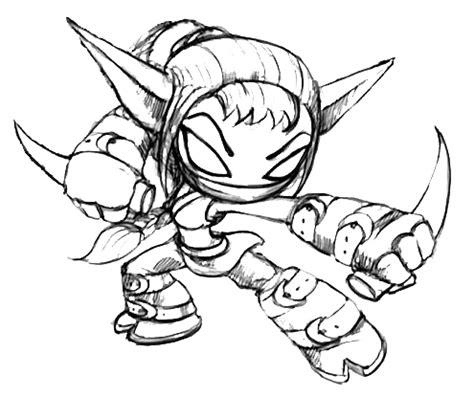 skylanders coloring pages stealth elf elf coloring pages coloring pages