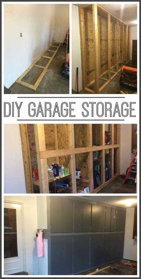 Build Your Own Garage Shelves by 25 Best Ideas About Garage Storage Cabinets On