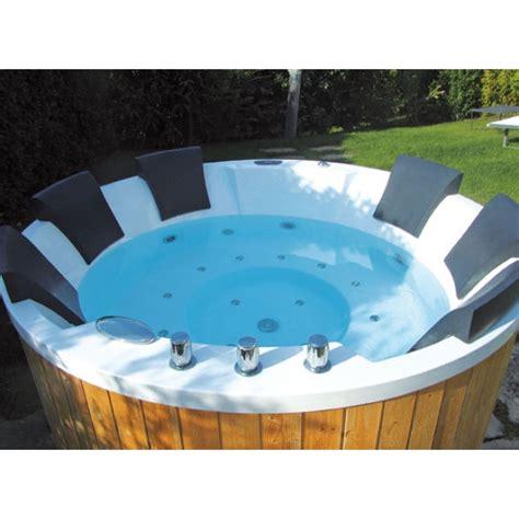 vasche idromassaggio esterno vasca idromassaggio da esterno high muster per 6 persone