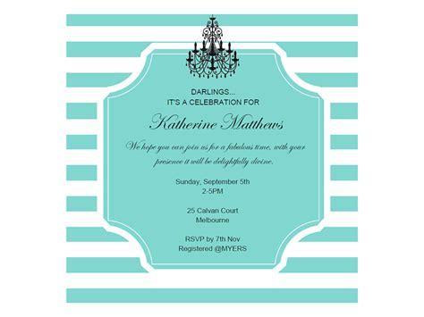 editable tiffany baby shower, bridal shower, birthday invitation, breakfast at tiffanys