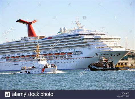 buy boat miami cruise ship and us coast guard boat in miami florida usa