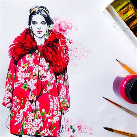 instagram design fashion instaawesome the fashion illustrations of diana kuksa
