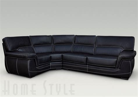 Leather Corner by Babylon Leather Corner Sofa