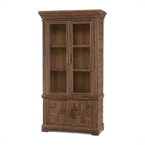 rustic cabinet with glass doors 2032 rustic china