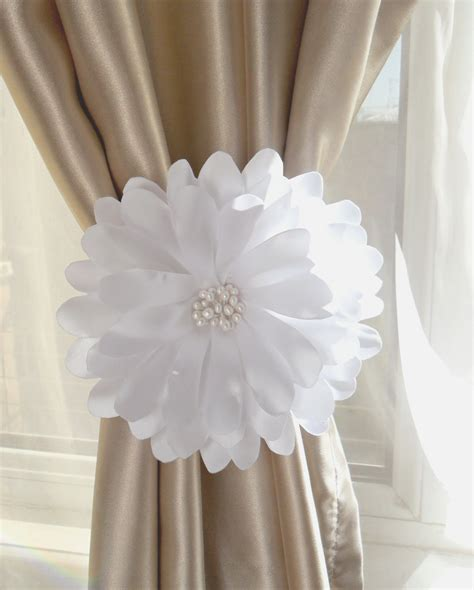Curtains With Ribbon Ties Curtain Tie Backflower Curtain Tie Back1 Pcs Nursery