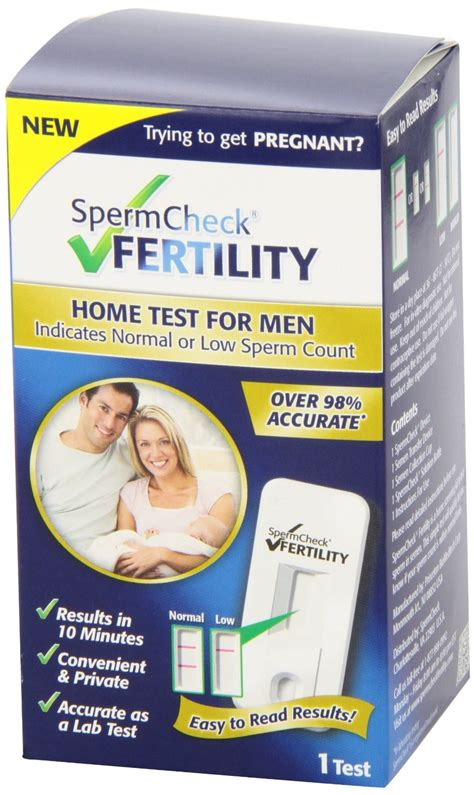 spermcheck home fertility test kit rite aid