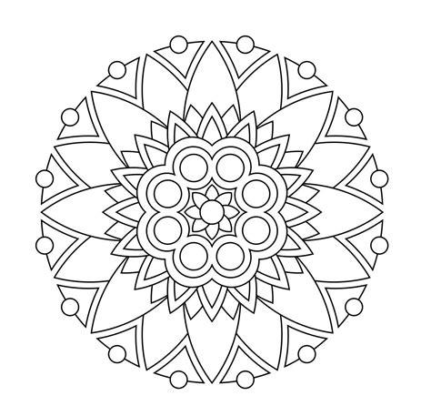 simple mandala coloring pages pdf design pdf printmandala 4c72679f35be02dd2858f744443cec39