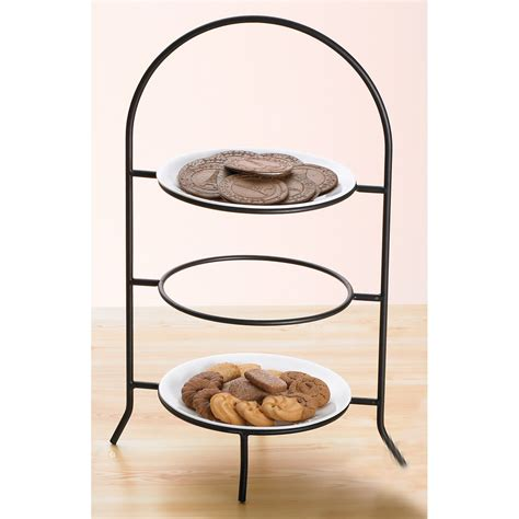 Tiered Plate Rack by Creative Home Iron Works 3 Tier Dinner Plate Rack Tiered