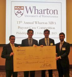 Wharton Mba Learning Teams by Wharton Wins Top Prize Against 15 Global Mba Programs At