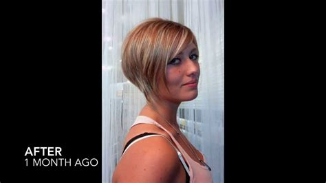 ront and back hairstyle makeovers hair makeover liberty s short sassy pixie bob cut youtube