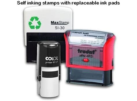 custom made rubber sts self inking and pre inked sts what is the difference between self inking traditional