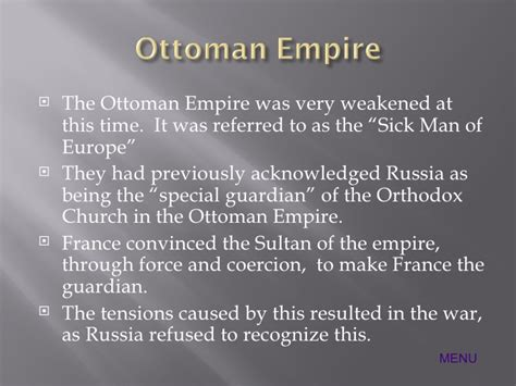 What Happened When The Ottoman Empire Weakened Crimean War