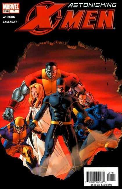 astonishing x men by whedon 0785161953 国外漫画书封面设计欣赏 2 设计之家