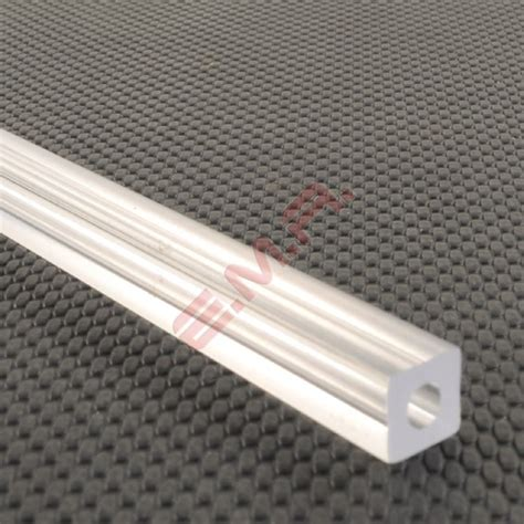 Acrylic Rod 8mm clear square 4 8mm clear square tubing square