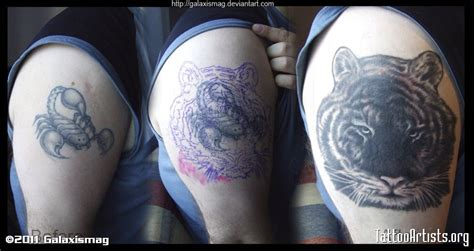tattoo cover up upper arm tiger upper arm tattoo artists org